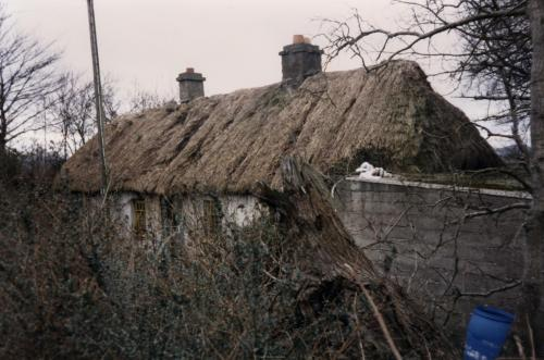 Thatched cottage on Swords Road, Malahide